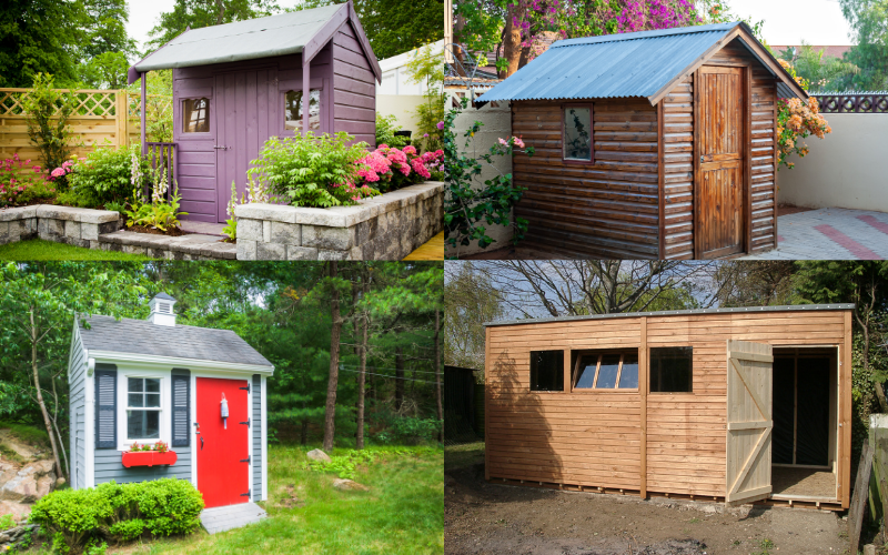 The Garden Shed - Examples