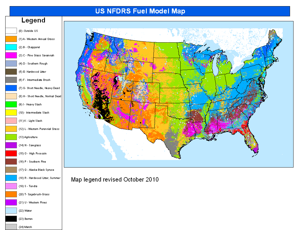 United States Large Fire Probability