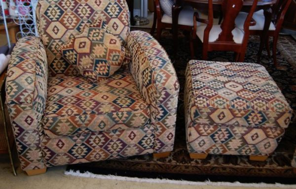 2-Arm Chairs and Ottoman  Prices Vary