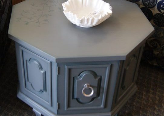 Octagon Side Table