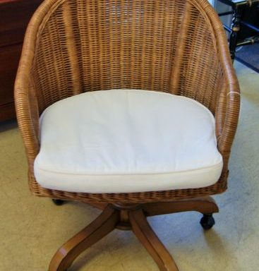 Swivel Rattan Swivel Chair