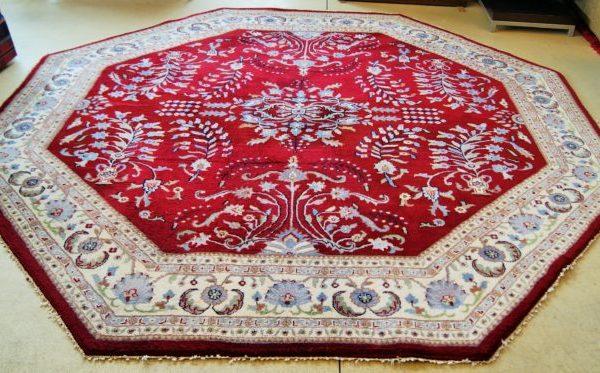 Oriental Octagon Floor Rug