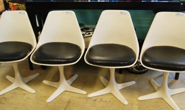 Mid Century Modern Tulip Chairs Priced Separate