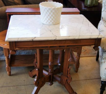 Antique Eastlake Foyer Table