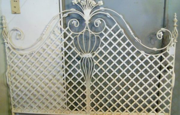 Victorian Princess King Size Iron Headboard
