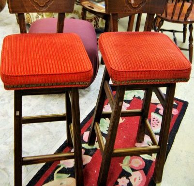 2 Vintage Bar Stools Priced Separate