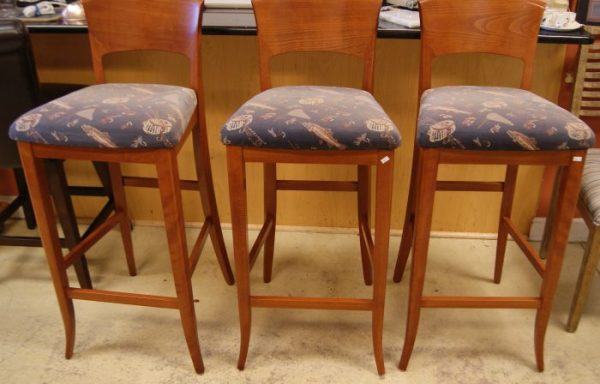 3-Counter Bar Stools Priced Separate