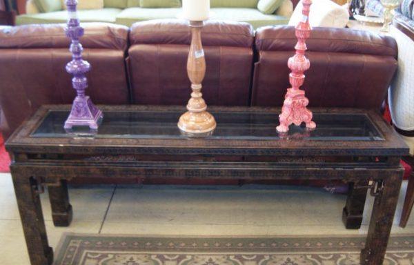 Asian Style Sofa Table