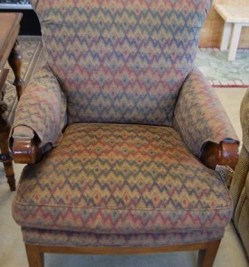 Scroll Arm Chairs Priced Separate