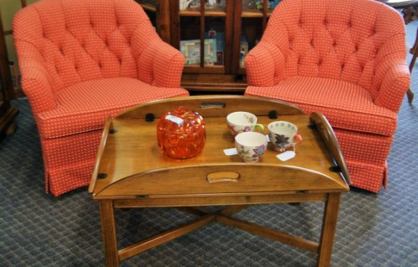 2-Tufted Club Chairs Priced Separate