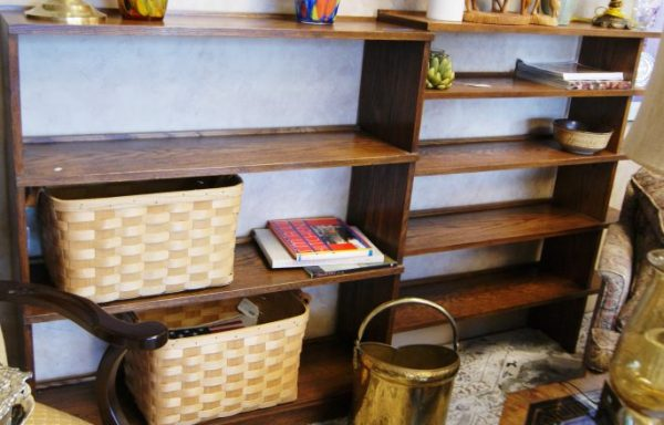 Bookshelves Priced Separate