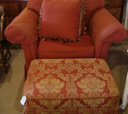 Arm Chair And Ottoman Priced Separate