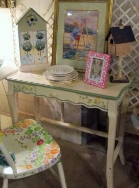 Decorative Desk And Chair Priced Separate