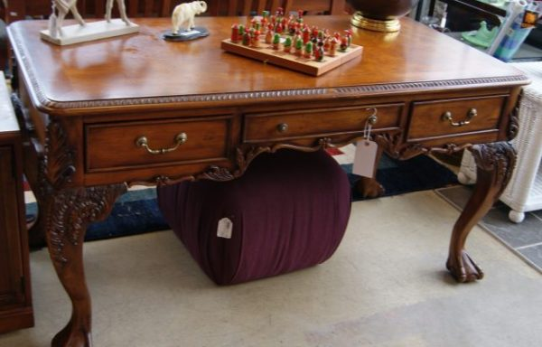 Ball And Claw Library Desk