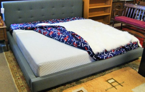 Queen Platform Bed And Mattress Priced Separate