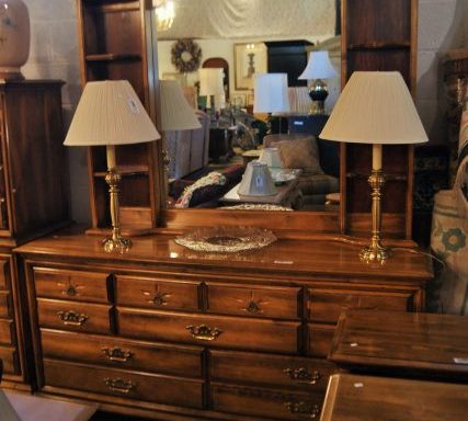 Dresser And Night Stands Priced Separate