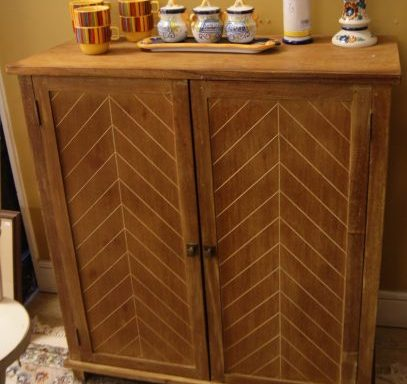 Small Decorative Cabinet