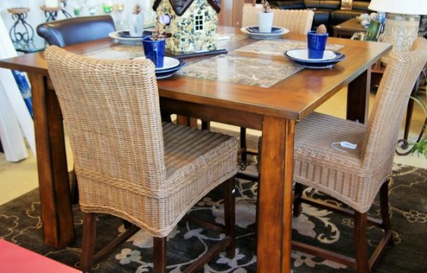 High Top Table And Counter Chairs Priced Separate
