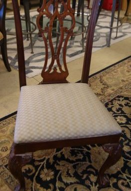 Chippendale Chairs Priced Separate
