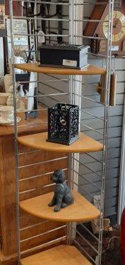 Contemporary Corner Shelf