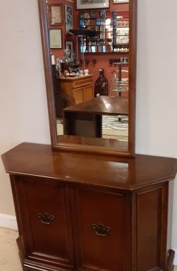 FOYER CABINETS AND MATCHING MIRRORS