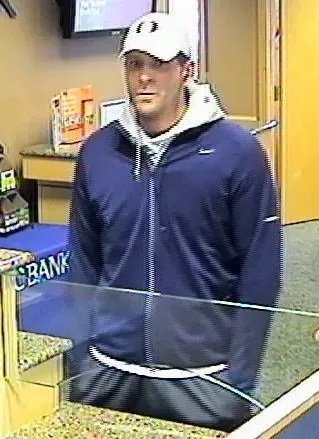 Wake Forest, NC PNC Bank Robber at Large