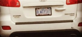 Tony sent in this plate spotted on Capital Blvd.