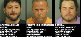May 15-17, 2015 – Wake Forest Police Mugshots & Crime Map