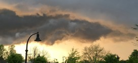 Ominous Wake Forest Cloud Makes Beautiful Photo