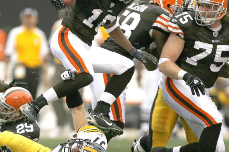 Josh Cribbs Cleveland Browns Pittsburgh Steelers