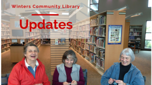 Winters Community Library Updates at wfol.org