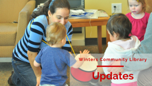 Winters Community Library Updates August 10, 2015