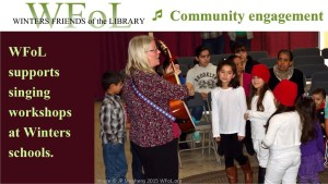 Winters Friends of the Library – Holiday Festival Sings! Library, Community and Literacy