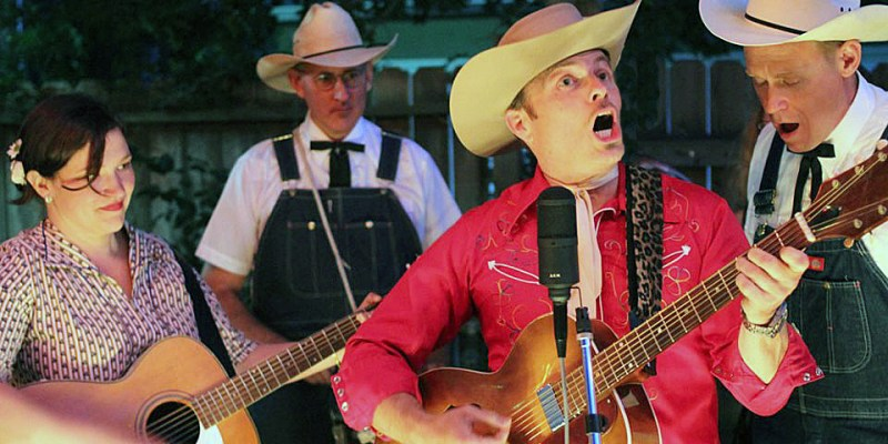 Peter Petty and his Dubble P Boys will present a free outdoor concert on Thursday July 7 at 7:00 p.m. at the Rotary Park Gazebo in Winters, to kick off the Winters Friends of the Library summer concert series.
