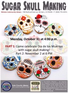 Celebrate Dia de los  Muertos at the Winters Community Library