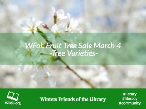 WFoL Tree Sale 2017 – Tree List