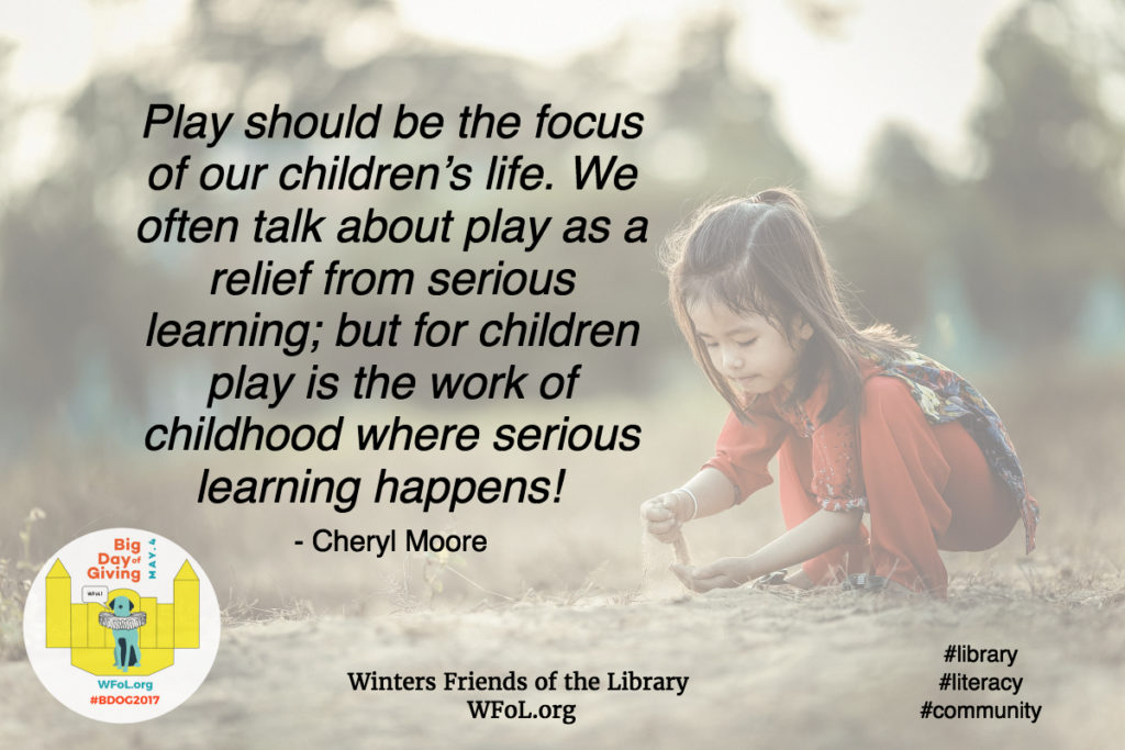Play & Literacy Building a Stage for Success #BDOG2017. WFoL.org