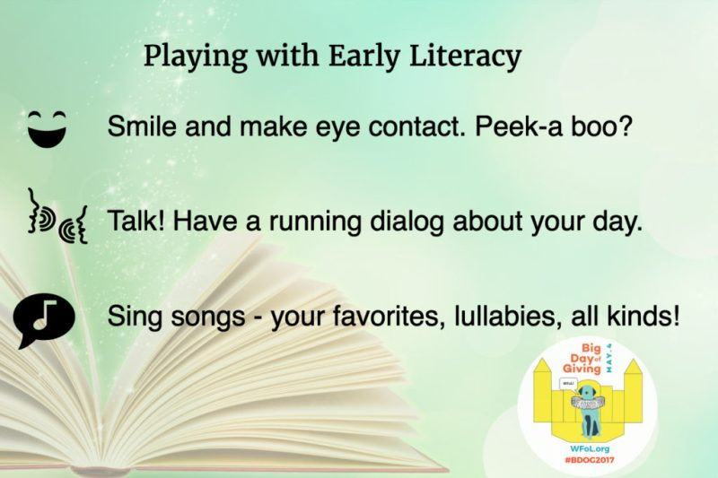 Play & Literacy Building a Stage for Success #BDOG2017 WFoL.org