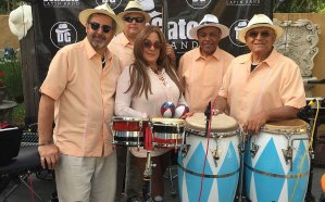 Don Gato Latin Band at the Gazebo on July 6
