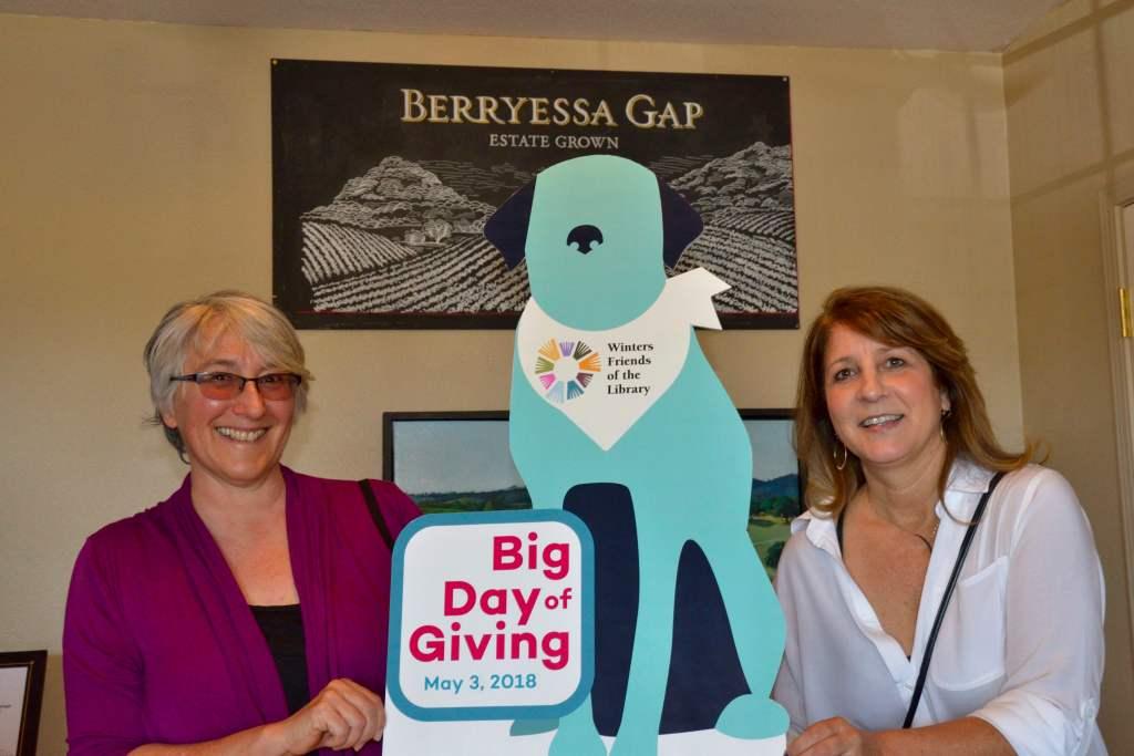 Donation Celebration May 3, 2018 at Berryessa Gap