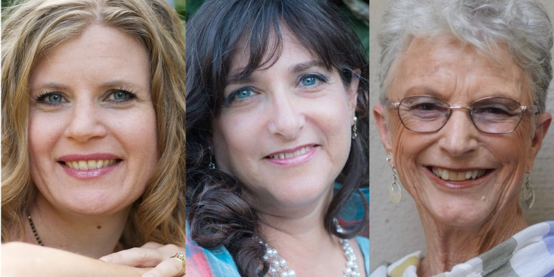 Local authors (l.-r.) Tamsen Schultz, Eileen Rendahl, and Marilyn Reynolds will be featured at a free Community Writes workshop on Saturday, October 12th, 2:00-4:30 p.m. at the Winters Community Library. Participants will learn the ins and outs of writing mystery, humor, and memoir, and will have the chance to practice the craft of writing. The workshop is sponsored by Winters Friends of the Library as part of Indie Author Day.