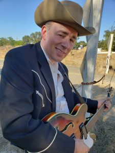Geoffrey Miller and his band will present a free outdoor concert on Thursday, July 15 at 7:00 p.m. at the Rotary Park Gazebo in Winters, as part of the Winters Friends of the Library summer concert series.
