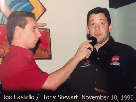 Joe and Tony Stewart