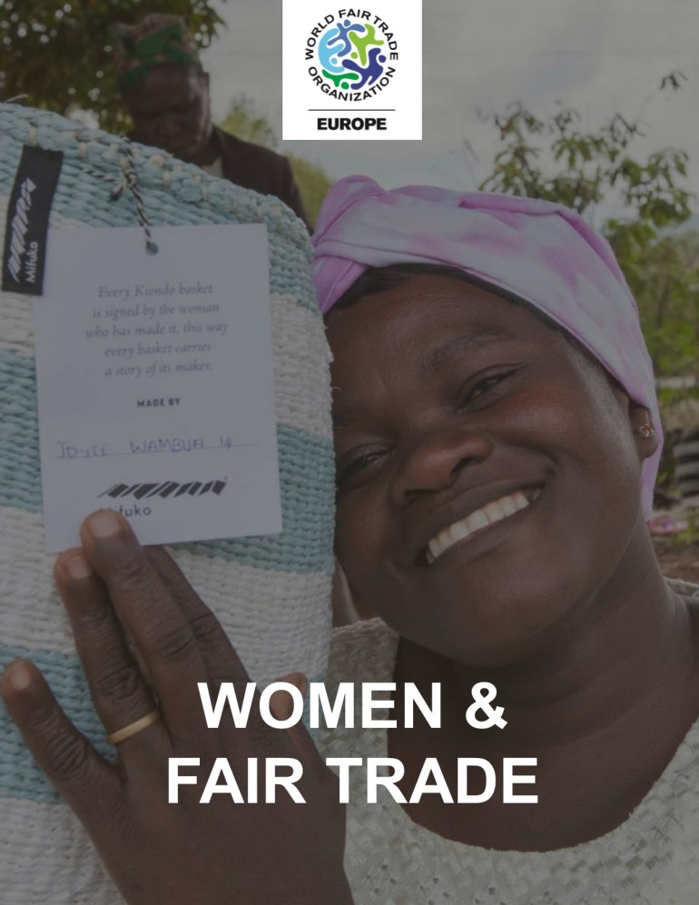 "Booklet ""Women & Fair Trade"""