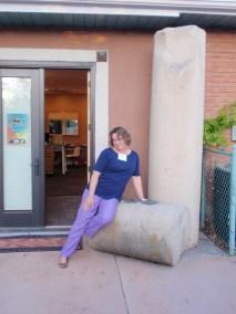 Denise Tverdoch at Maura Naughton's home in Utah