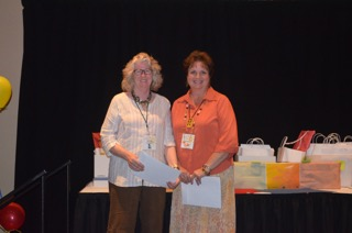 SAWG Signature Member with Susan Morris