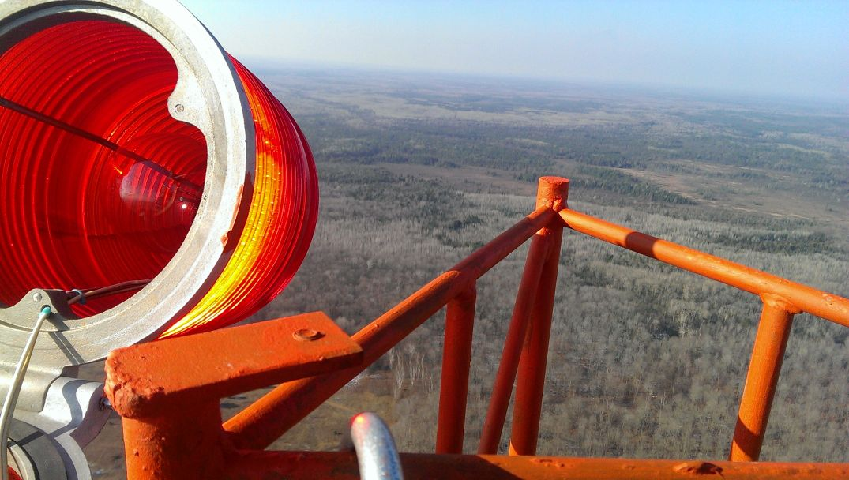 Climbing Tower Change Light Bulb