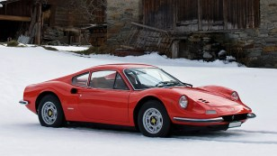 1969 Ferrari Dino 246 GT; top car design rating and specifications