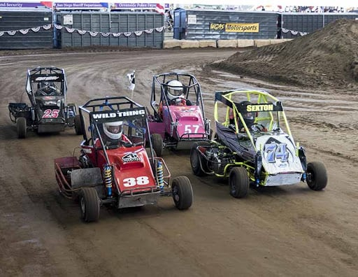 wgas motorsports jr outlaw sprint mini dwarfs del mar