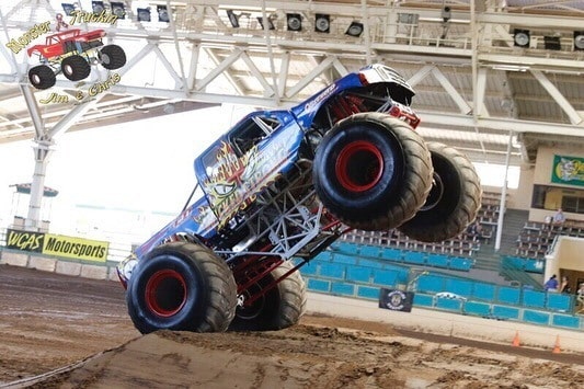 wicked strong monster truck
